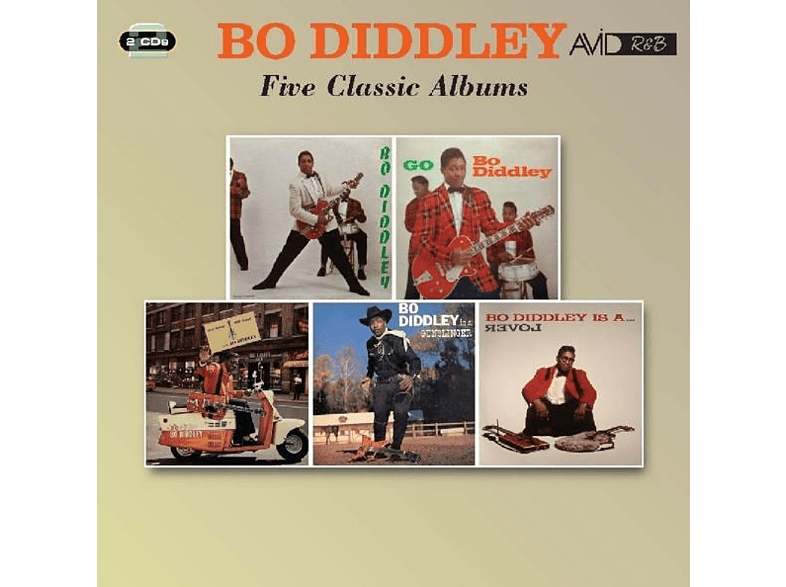 Bo Diddley - Five Classic Albums [CD]