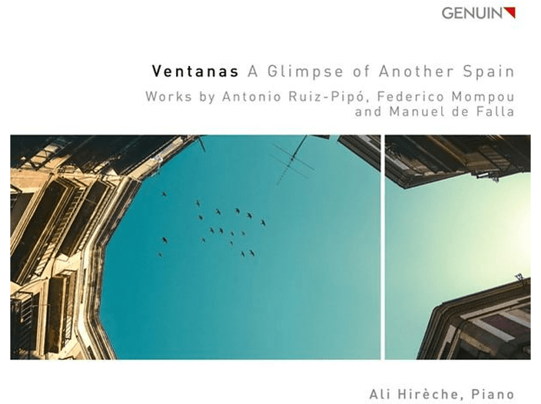 Ali Hireche - Ventanas-A Glimpse of Another Spain [CD]