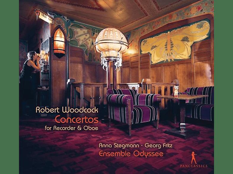 Anna Stegmann, Georg Fritz, Ensemble Odyssee, VARIOUS - Flöten-& Oboenkonzerte [CD]