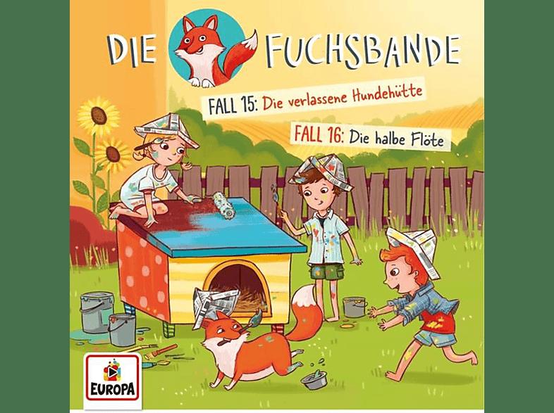 Die Fuchsbande - 008/Fall 15: Die verlassene Hundehütte/Fall 16: - (CD)