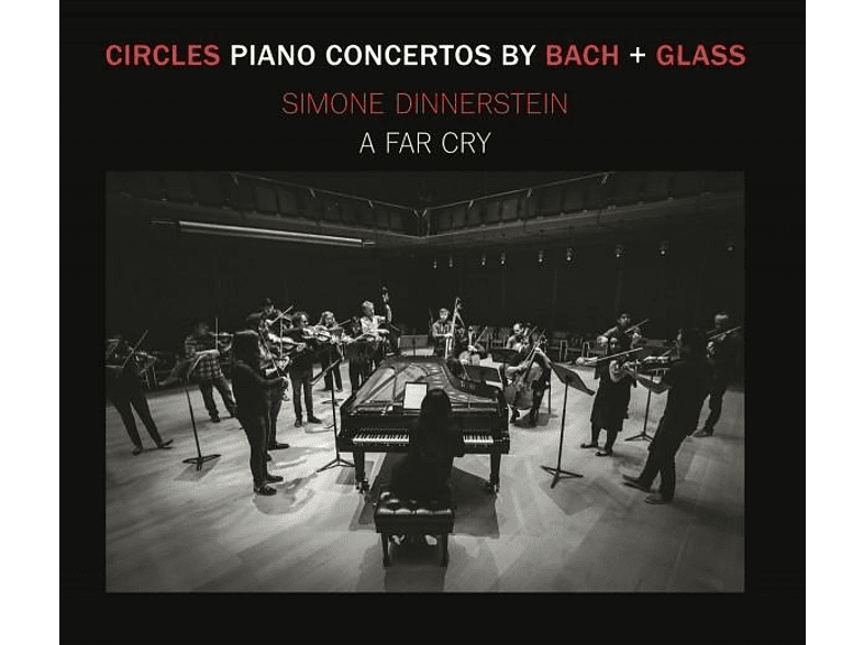 Simone Dinnerstein, A Far Cry - Circles: Klavierkonzerte von Bach & Glass [CD]