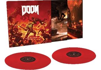 Mick Gordon - DOOM (Original Game Soundtrack) (180g Red 2LP)  - (Vinyl)
