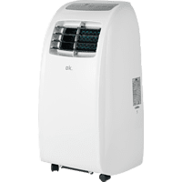 Aire acondicionado portátil - OK OAC 2111 ES, 1750 frigorías, Temporizador, Clase A, Blanco