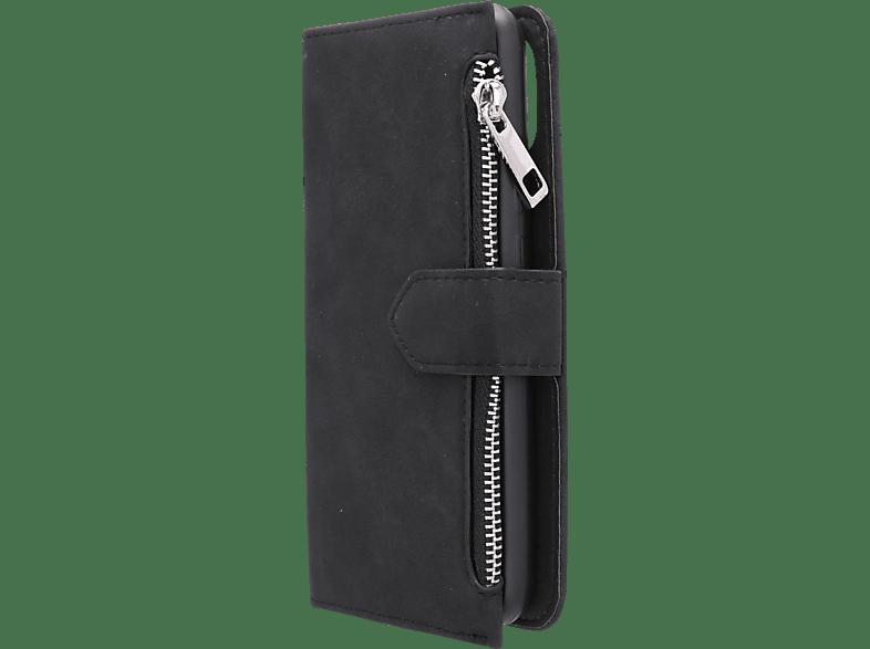 V-DESIGN N-2-1 010 , Bookcover, HUAWEI, P20 LITE, Schwarz