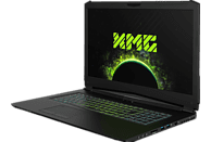 XMG PRO 17 - M18whs, Gaming Notebook mit 17.3 Zoll Display, Core™ i7 Prozessor, 32 GB RAM, 500 GB SSD, 1 TB HDD, GeForce® GTX 1070, Schwarz