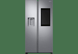 SAMSUNG RS68N8941SL/EF Family Hub Side-by-Side (382 kWh/Jahr, 1780 mm hoch, Edelstahl)