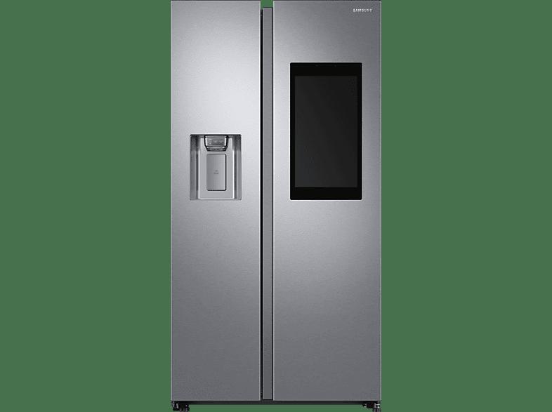 SAMSUNG RS68N8941SL/EF Family Hub Side-by-Side (382 kWh/Jahr, A++, 1780 mm hoch, Edelstahl)