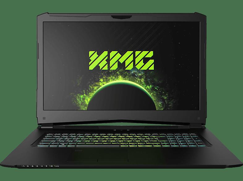 XMG PRO 17 - M18zgc, Gaming Notebook mit 17.3 Zoll Display, Core™ i7 Prozessor, 16 GB RAM, 250 GB SSD, 1 TB HDD, GeForce® GTX 1060, Schwarz