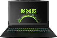 XMG A507 - M18, Gaming Notebook mit 15.6 Zoll Display, Core™ i7 Prozessor, 8 GB RAM, 1000 GB SSHD, GeForce® GTX 1050 Ti, Schwarz