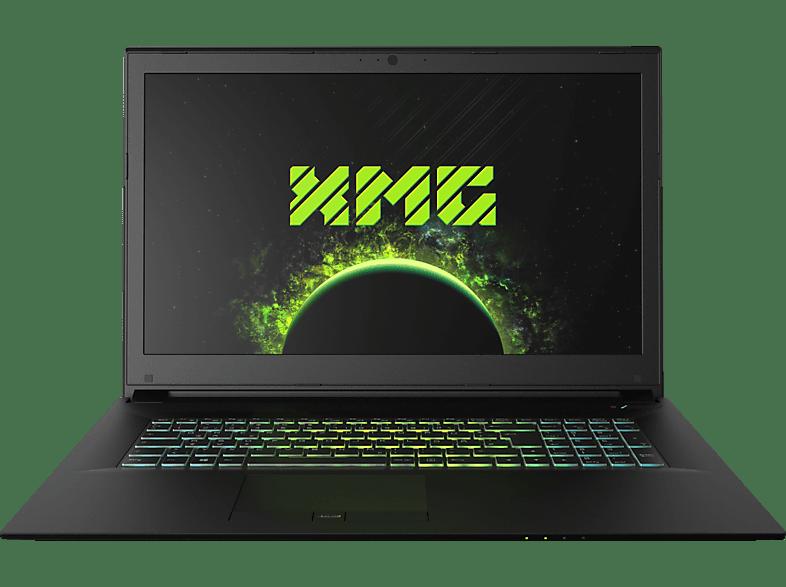 XMG A707 - M18scc, Notebook mit 17.3 Zoll Display, Core™ i5 Prozessor, 16 GB RAM, 250 GB SSD, 1 TB HDD, GeForce® GTX 1050 Ti, Schwarz