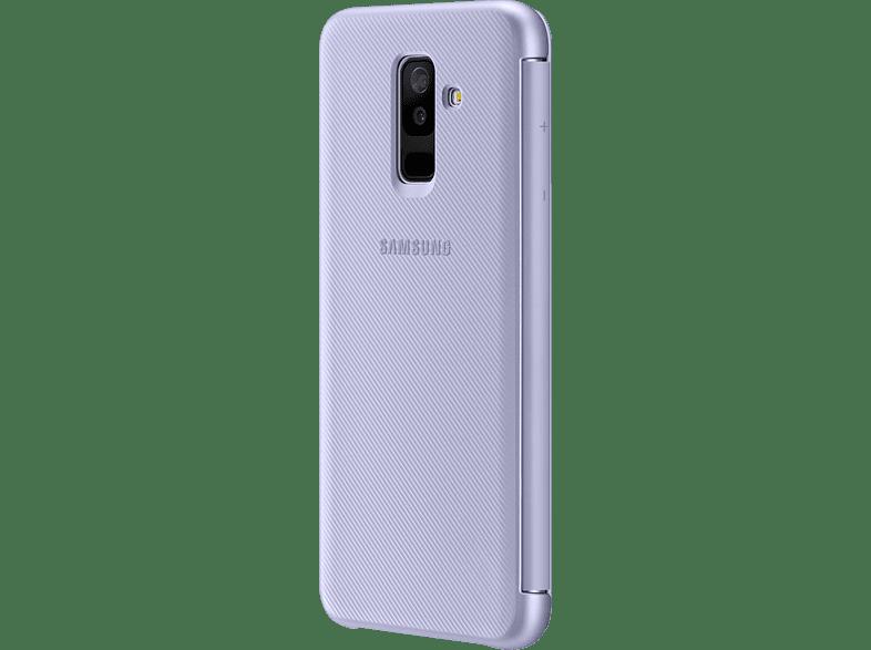 SAMSUNG Wallet , Bookcover, Samsung, Galaxy A6+, Lavendel