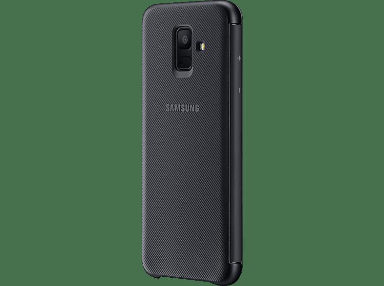 SAMSUNG Wallet , Bookcover, Samsung, Galaxy A6, Schwarz