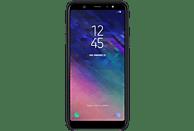 SAMSUNG Dual Layer , Backcover, Samsung, Galaxy A6+, Schwarz