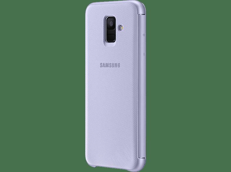 SAMSUNG Wallet , Bookcover, Samsung, Galaxy A6, Lavendel