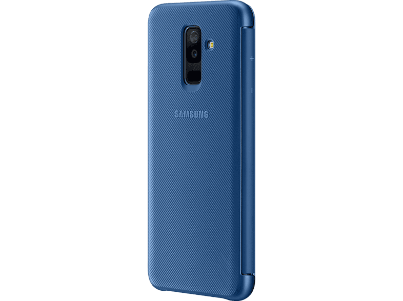 SAMSUNG Wallet , Bookcover, Samsung, Galaxy A6+, Blau
