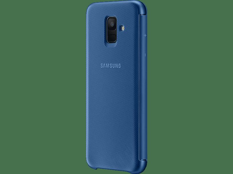 SAMSUNG Wallet , Bookcover, Samsung, Galaxy A6, Blau