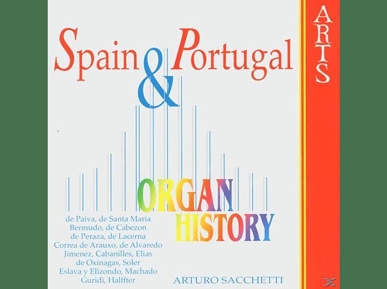 Arturo Sacchetti - Organ Historie-Spain & Portugal [CD]