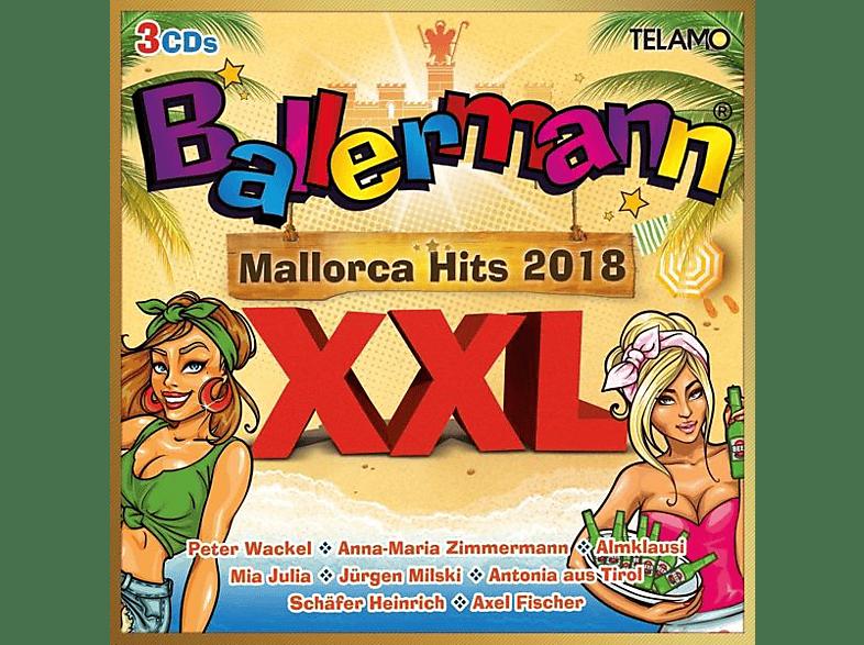 VARIOUS - Ballermann XXL-Mallorca Hits 2018 [CD]