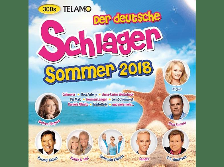 VARIOUS - Der deutsche Schlager Sommer 2018 [CD]