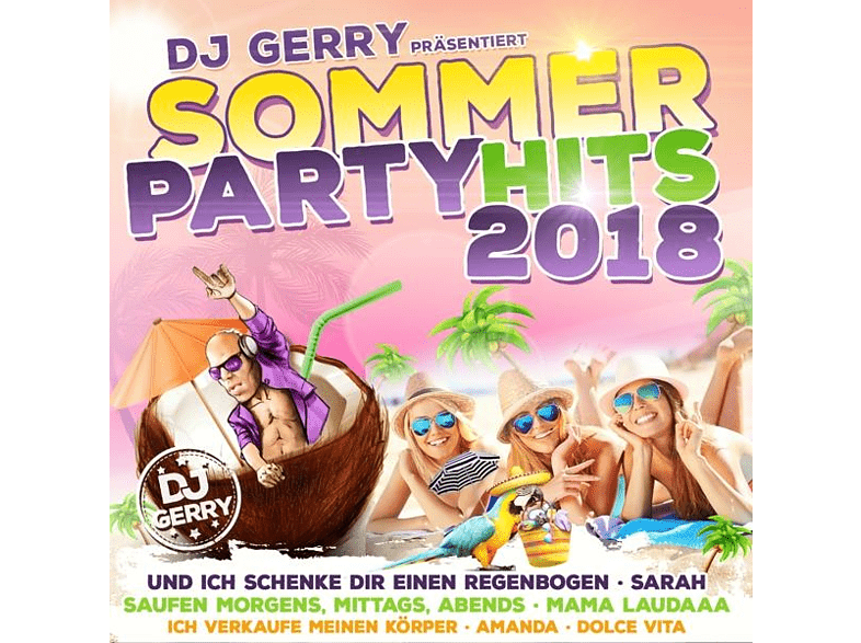VARIOUS - DJ Gerry präs.Sommer Party Hi [CD]