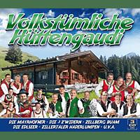 VARIOUS - Volkstümliche Hüttengaudi [CD]