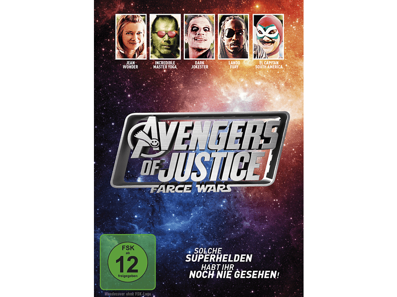 Avengers of Justice: Farce Wars [DVD]