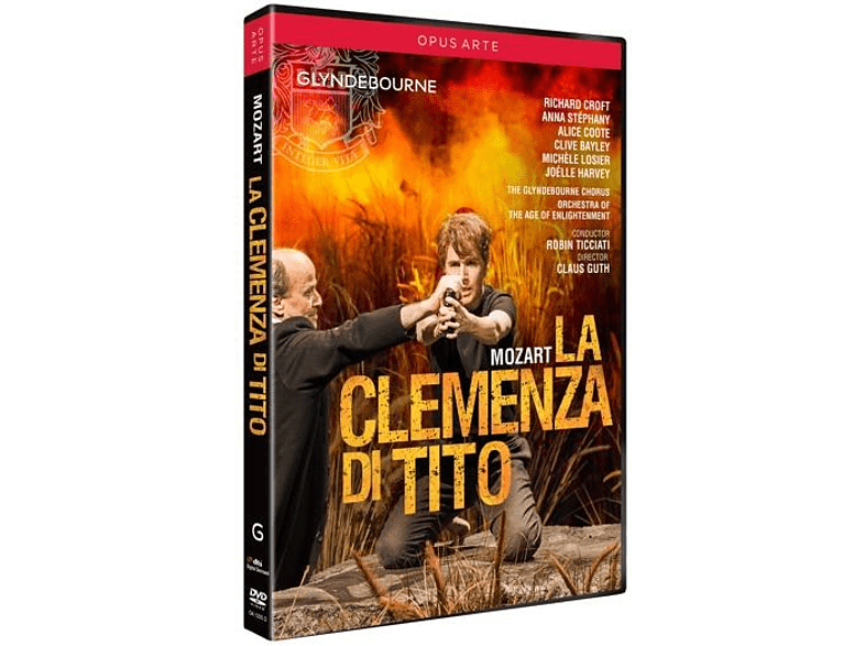 Orchestra Of The Age Of Enlightenment, Glyndebourne Chorus, VARIOUS - La Clemenza Di Tito [DVD]
