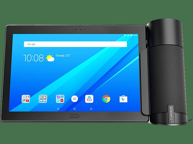 LENOVO Home Assistant Pack mit Tab 4 10 Plus, Tablet + Lautsprecher , 10.1 Zoll, Aurora Black/Schwarz