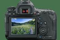 CANON EOS 6D Mark II Body Spiegelreflexkamera, 26.2 Megapixel, Full HD, Touchscreen Display, WLAN, Schwarz
