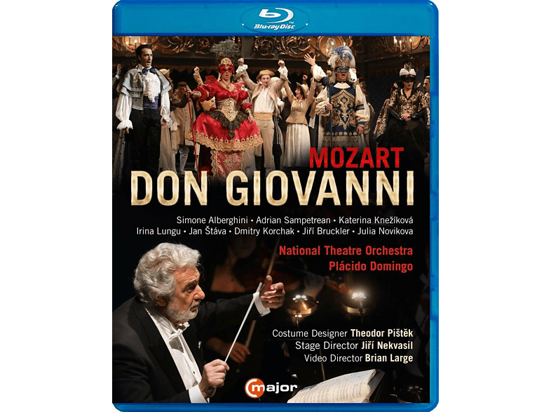 Domingo/Alberghini/S - Don Giovanni [Blu-ray]