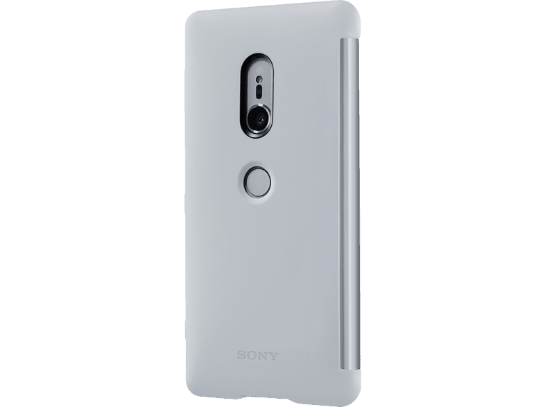 SONY Style C. Stand Bookcover Sony Xperia XZ2  Silber