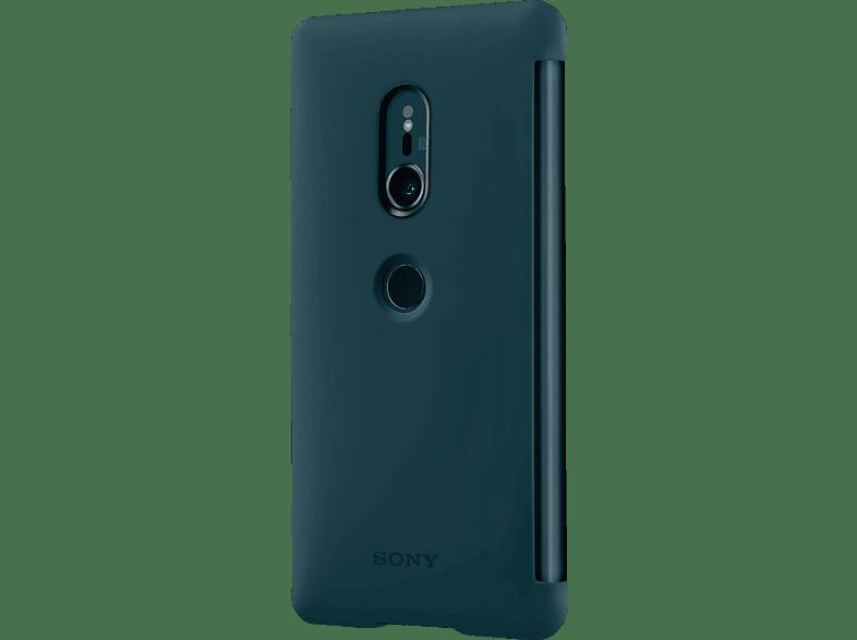 SONY Style C. Stand Bookcover Sony Xperia XZ2  Grün