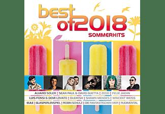 VARIOUS - Best Of 2018 - Sommerhits  - (CD)