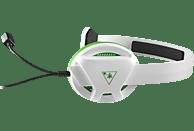 TURTLE BEACH Recon Chat Headset Gaming Headset, Weiß/Grün