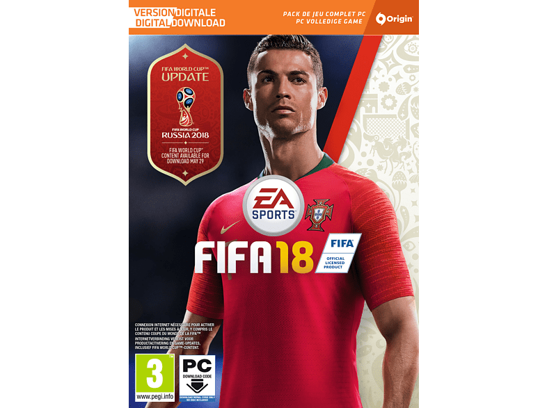 FIFA 18 NL/FR (Code in a box) PC