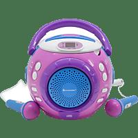 SOUNDMASTER KCD1600PI CD-Player Pink/Blau