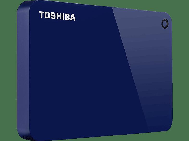 TOSHIBA Canvio Advance 2 TB, 2 TB HDD, 2.5 Zoll, extern