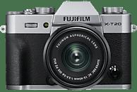 FUJIFILM X-T20 Kit Systemkamera 24.3 Megapixel mit Objektiv 15-45 mm F3.5-5.6, 7,6 cm Display, WLAN