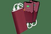 FRESH N REBEL Ruby Powerbank 18.000 mAh Rot