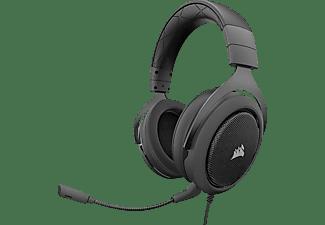 Auricular con micrófono - Corsair HS50, Binaurale, Diadema