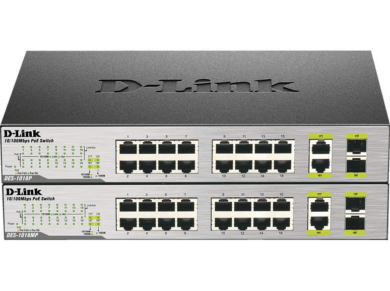 Standard Switch D-LINK 18-Port Layer2 PoE 18