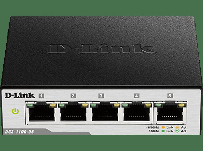 Smart Switch D-LINK 5-Port Gigabit 5