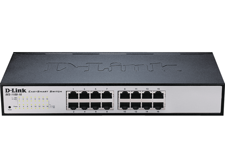 Smart Switch D-LINK 16-Port Layer2 16