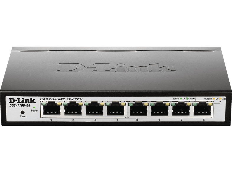 Smart Switch D-LINK 8-Port Layer2 8