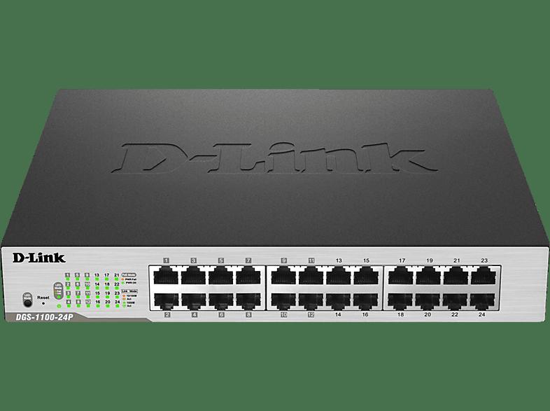 Smart Switch D-LINK 24-Port PoE Gigabit 24