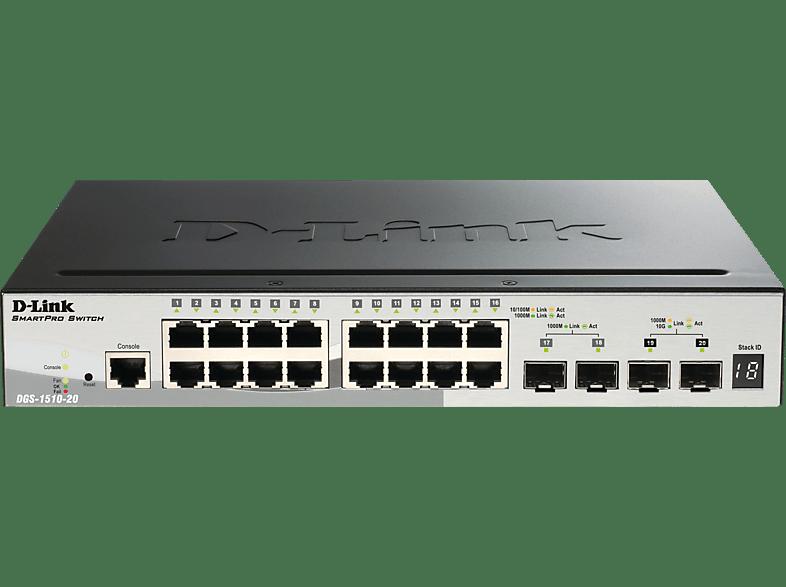 Smart Switch D-LINK 20-Port Smart Managed 20