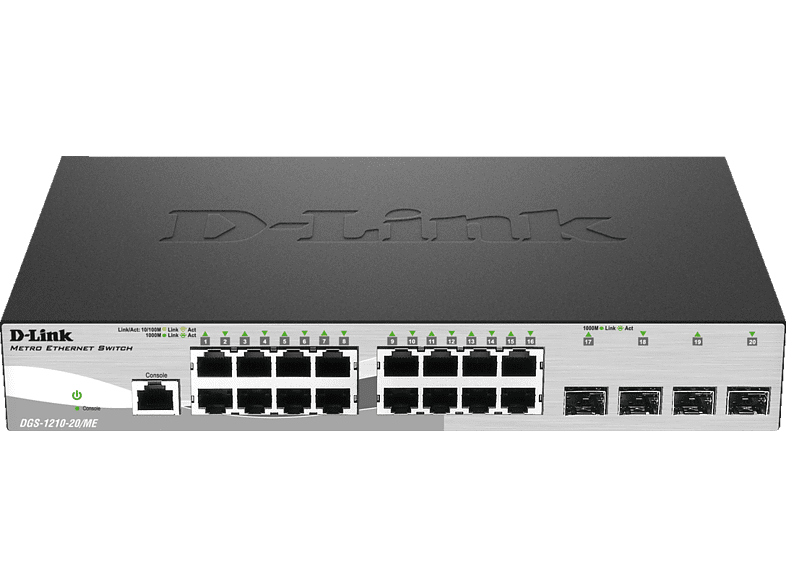 Smart Switch D-LINK 20-Port Layer2 20