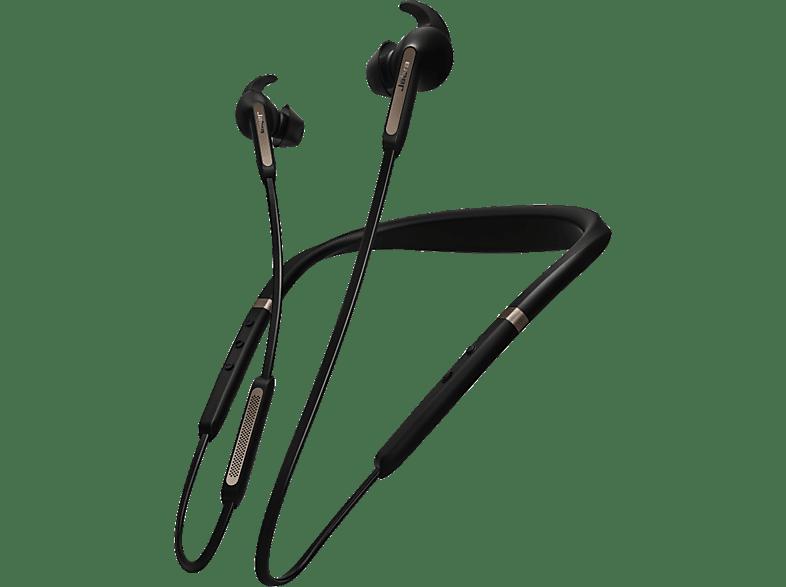 JABRA Elite 65e, In-ear Wireless Kopfhörer Bluetooth Schwarz/Kupfer