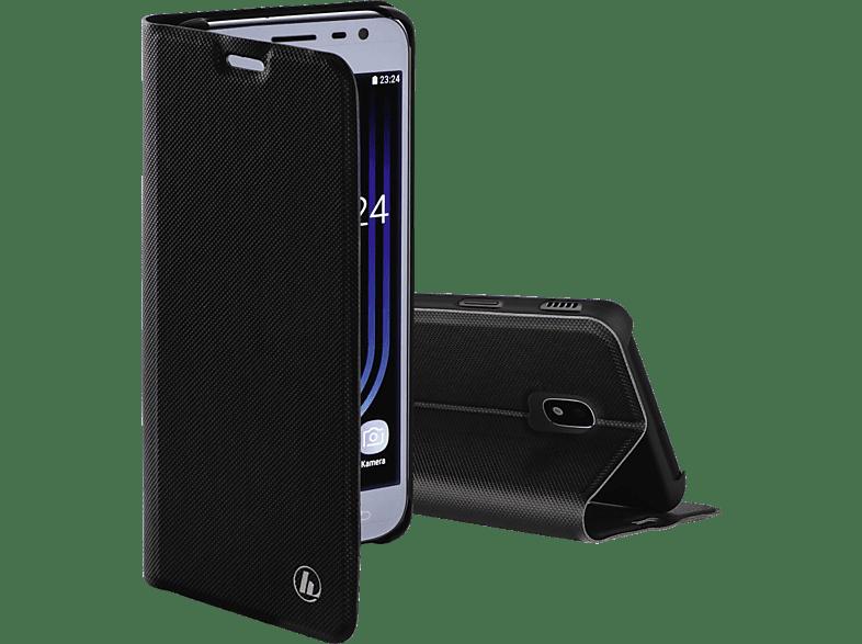 HAMA Slim Pro , Bookcover, Samsung, Galaxy J3 (2017), Polyurethan, Schwarz