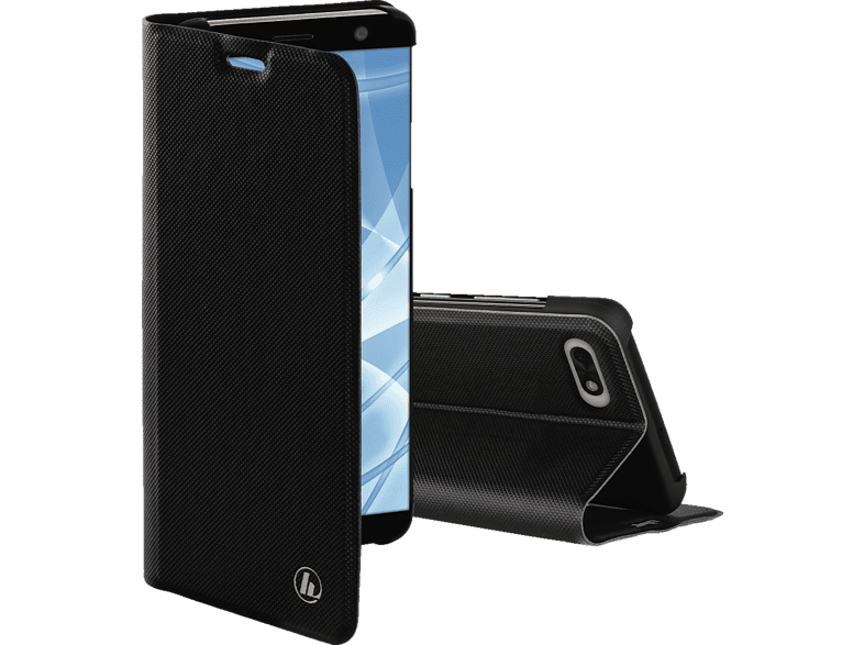 HAMA Slim Pro , Bookcover, Huawei, Y5 (2018), Polyurethan, Schwarz